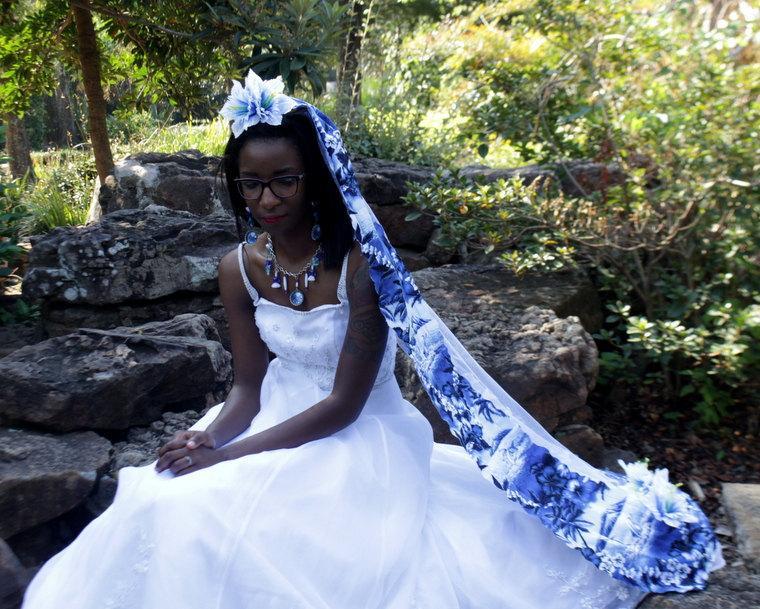 Свадьба - Irreproachable Dolphin - Ocean Wedding - Beach Wedding - Tropical Wedding - Bridal Veils And Headpieces - Wedding Accessories - Long Veil