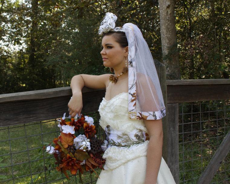 Wedding - Praiseworthy Camo Wedding Accessories - Wedding Veils - Camouflage Accessories - Bridal Veils - Wedding Veils - Bridal Wedding Veils