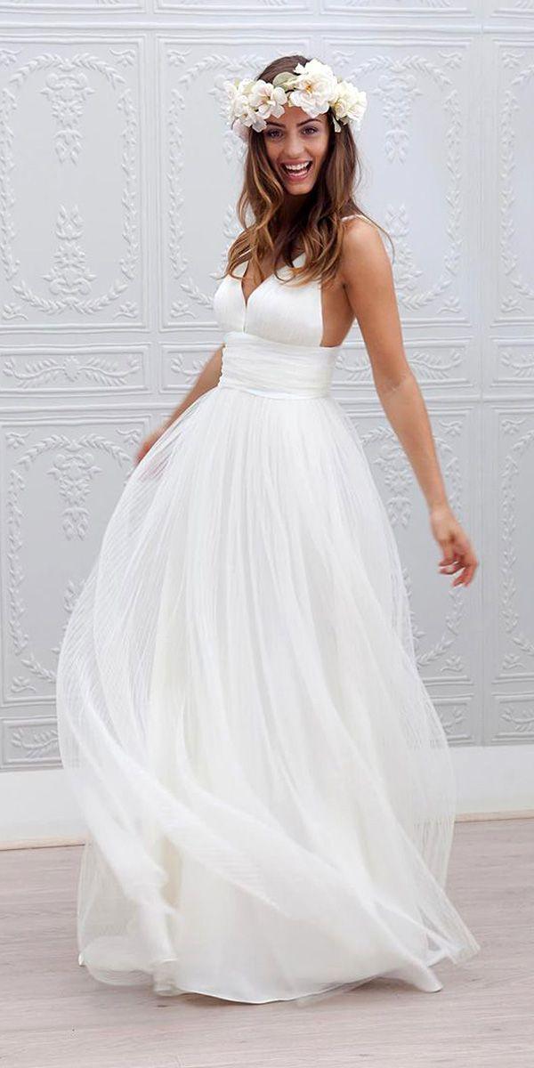 Mariage - 18 Beach Wedding Dresses Of Your Dream