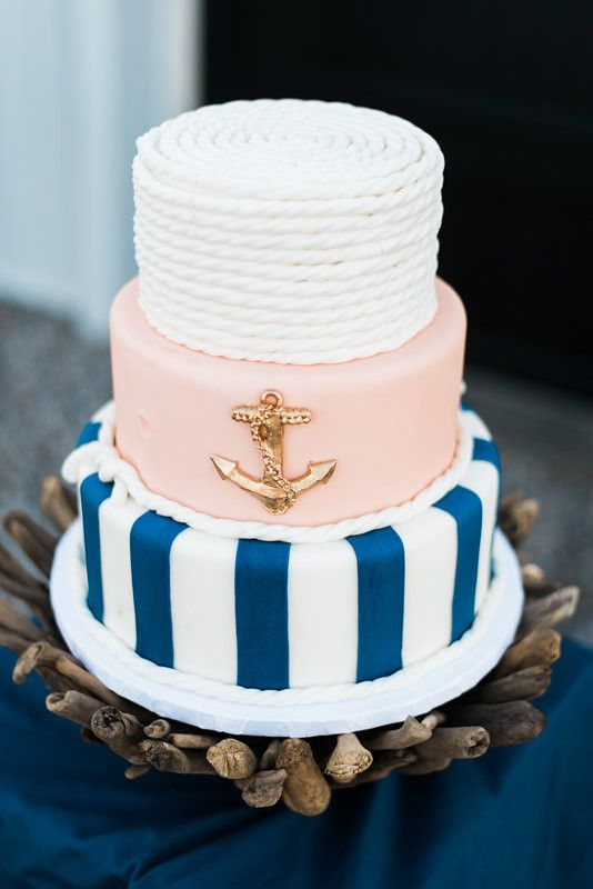 Hochzeit - Modern Nautical Wedding Inspiration