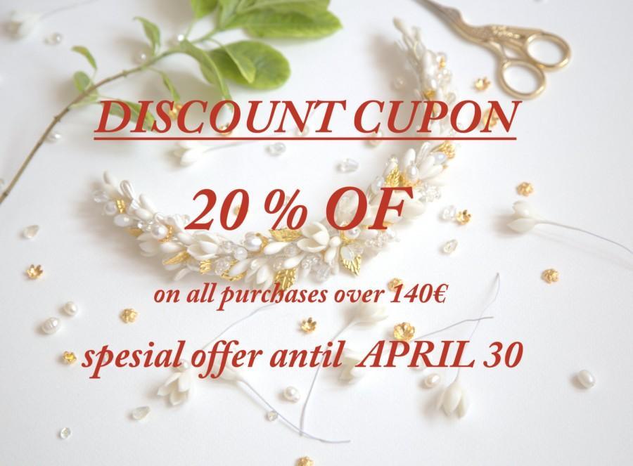 Свадьба - 20% off DISCOUNT CUPON