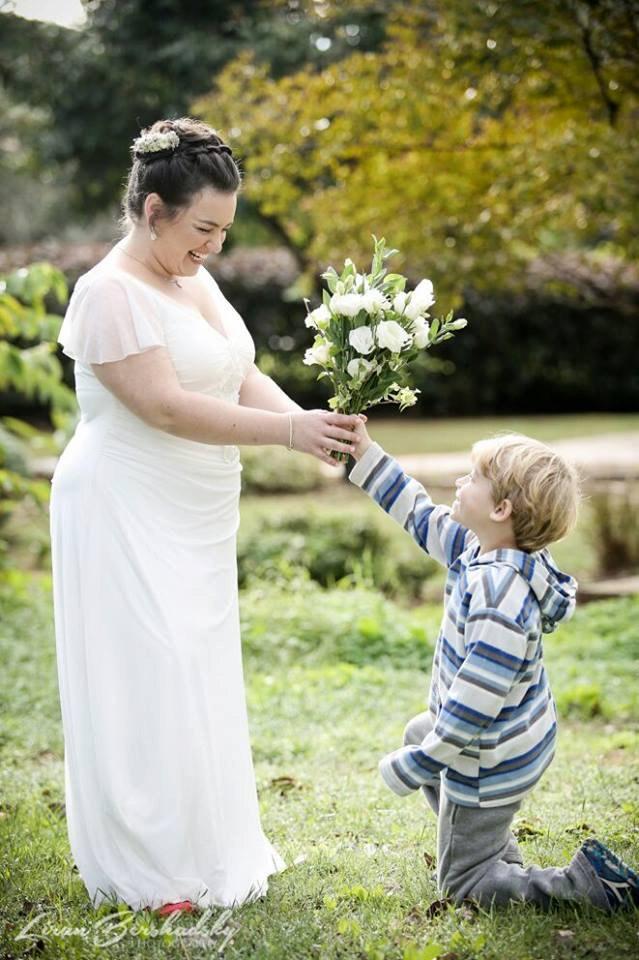 Romantic Wedding Dress Plus Size Wedding Dress Bohemian Wedding