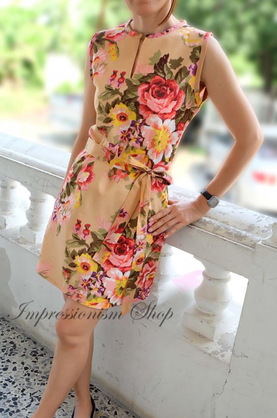 Floral Dresses for Weddings
