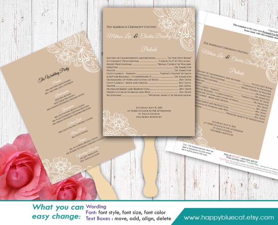 Wedding Programs Templates Free Microsoft Word Pasoevolistco - Wedding invitation templates: wedding program template word