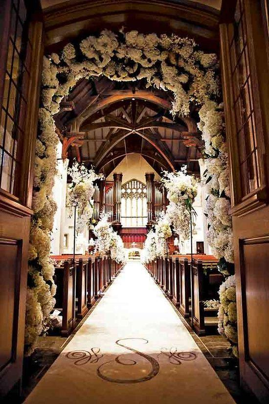 Creative Decoration Ideas For Church Wedding 40 Weddbook Magnificent Church Decoration Designs
