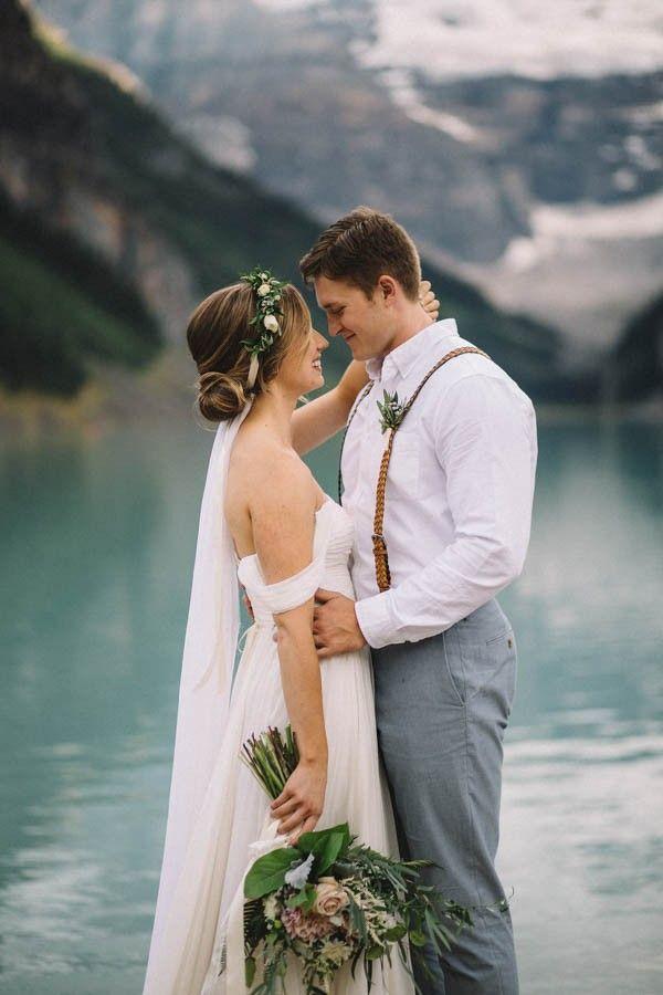 Свадьба - Breathtaking Canadian Elopement At Lake Louise