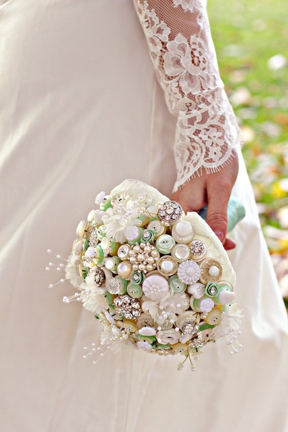 Wedding - 20 Chic And Fun Non-Floral Wedding Bouquet Ideas – Part 2