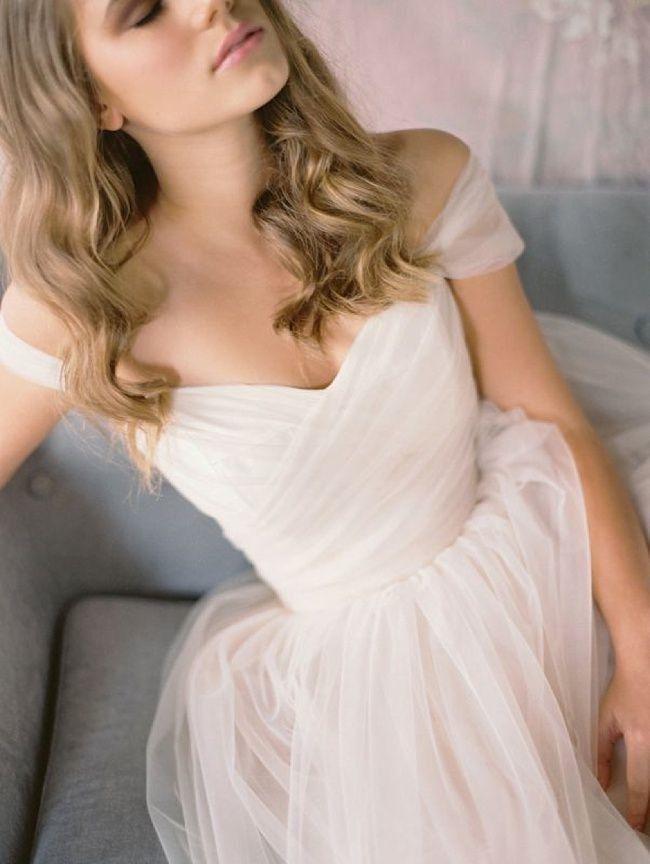 Wedding - 21 Ultra Romantic Tulle Wedding Dresses
