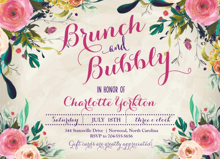 0f5a96c7a03f BRUNCH   BUBBLY INVITATION