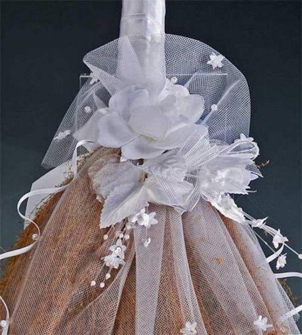 Mariage - Decorated Wedding Jump Broom