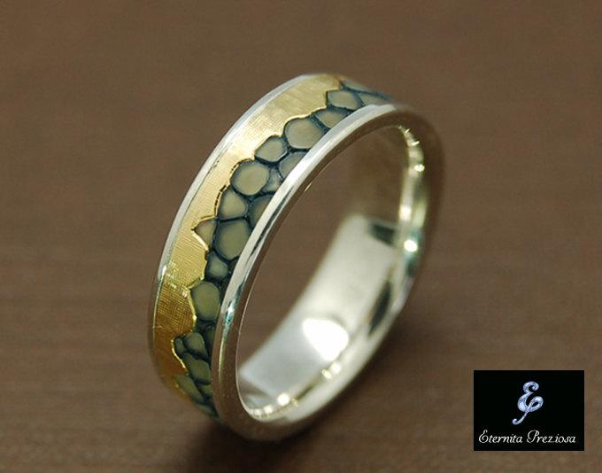 18k Gold Wedding Band Mens Wedding Band Womens Wedding