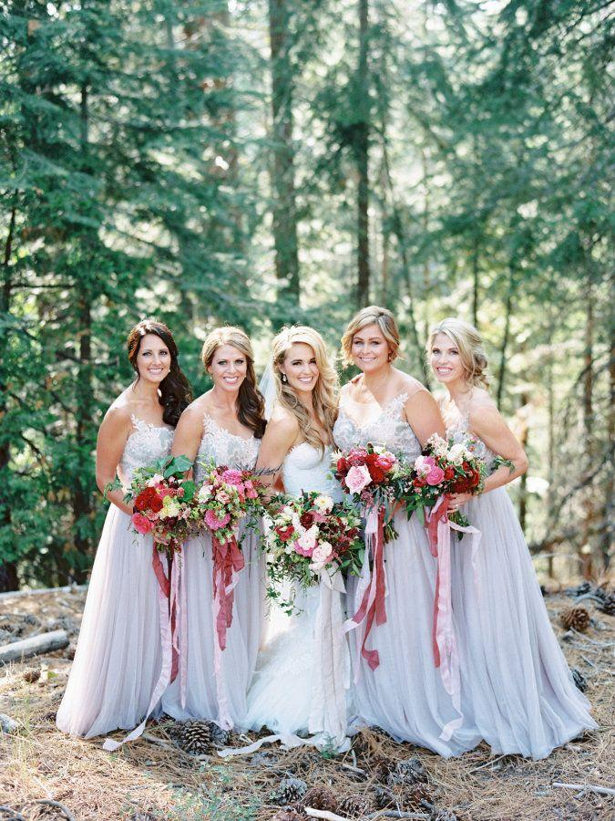 Wedding - Whimsical Summer Wedding At Lake Tahoe
