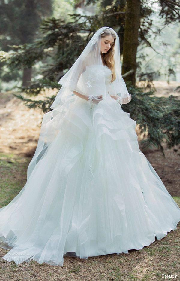 """ad065742d7c72 Tiglily Spring 2016 Wedding Dresses — """"Collection Of Pandora"""" Bridal  Collection"""