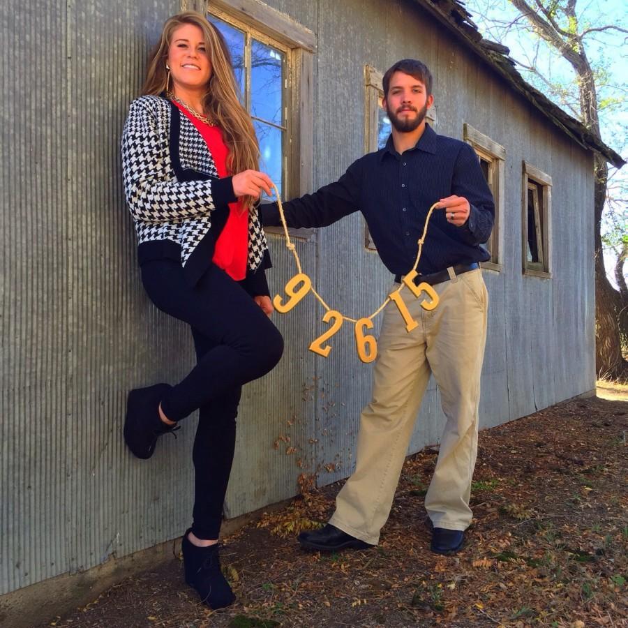 Mariage - Save The Date Banner, Wedding Date Photo Prop, Wedding Date, Wedding Announcement, Wedding Banner, Wedding Decor, Wedding Sign