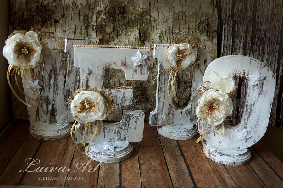 we do wedding signs rustic wedding centerpiece outdoors wedding letters wooden sings