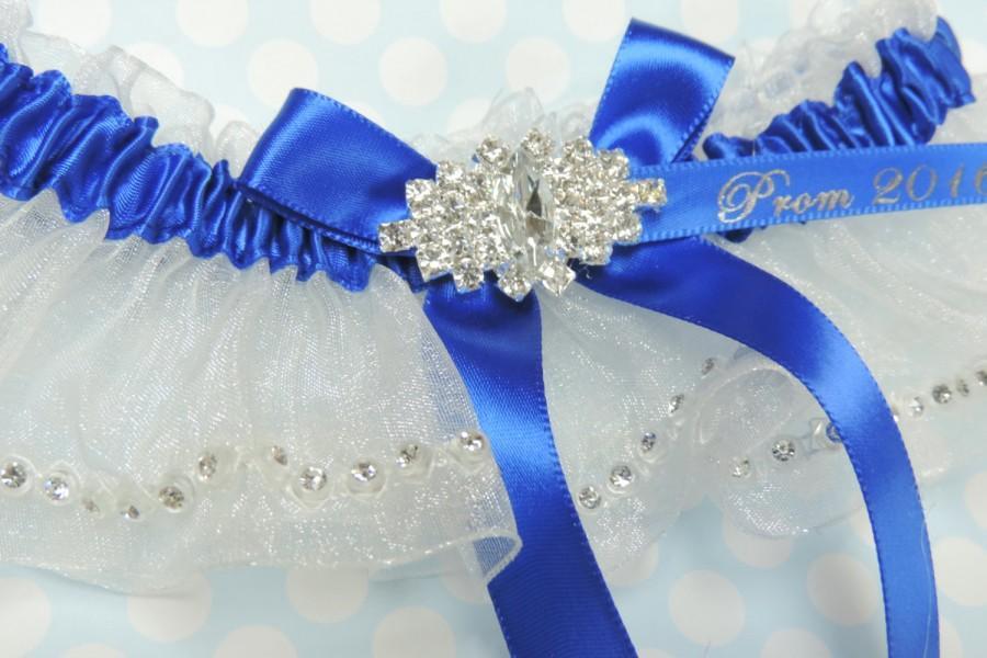 Mariage - Royal Blue Prom Garter,  Prom Garters,  Garters