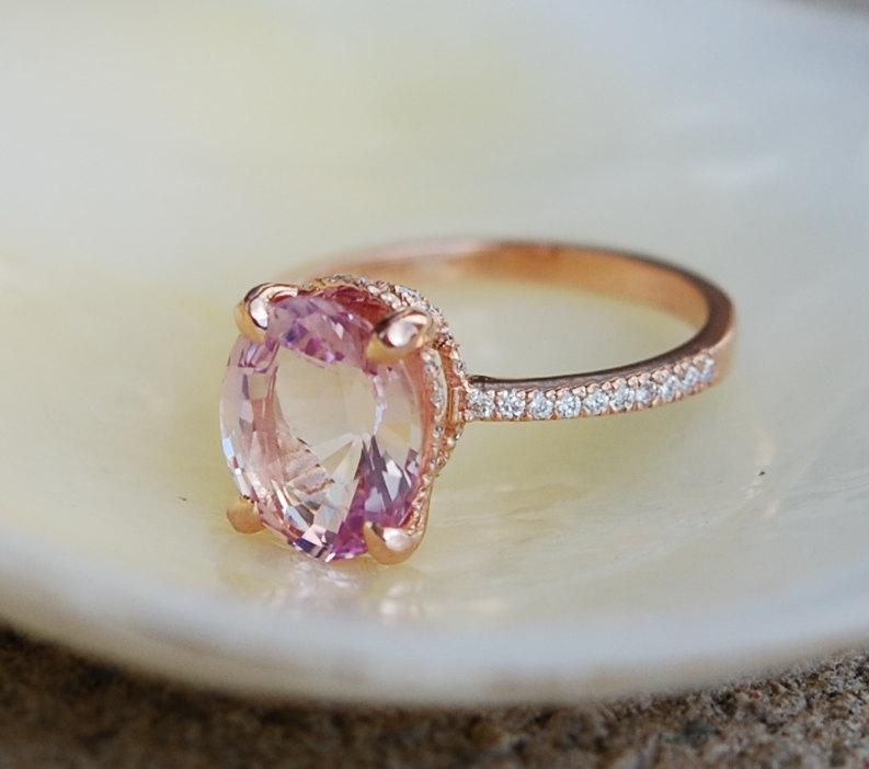 Blake Lively Wedding Ring.Blake Lively Ring Raspberry Sapphire Engagement Ring Oval Cut 14k