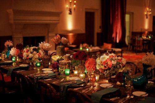 زفاف - Colorful Bohemian Wedding From Kristin Banta Events