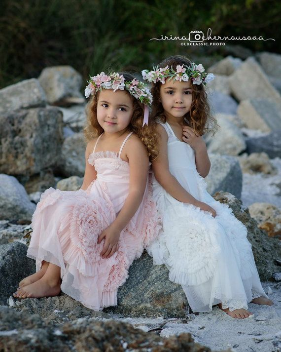 Sisters Matching Flower Crowns 6bf28430732