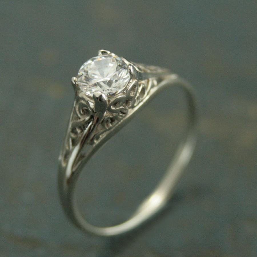 zoom cathedral round il solitaire white engagement listing ring moissanite fullxfull sapphire bikd