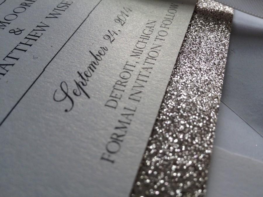 Mariage - Glitter Save-The-Date