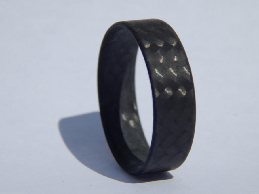 Mariage - CORE 100% Carbon Fiber Twill ring- Matte finish