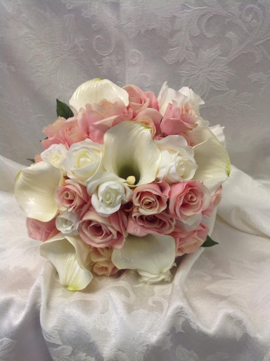Wedding flowers bridal bouquet replica holiday anniversary