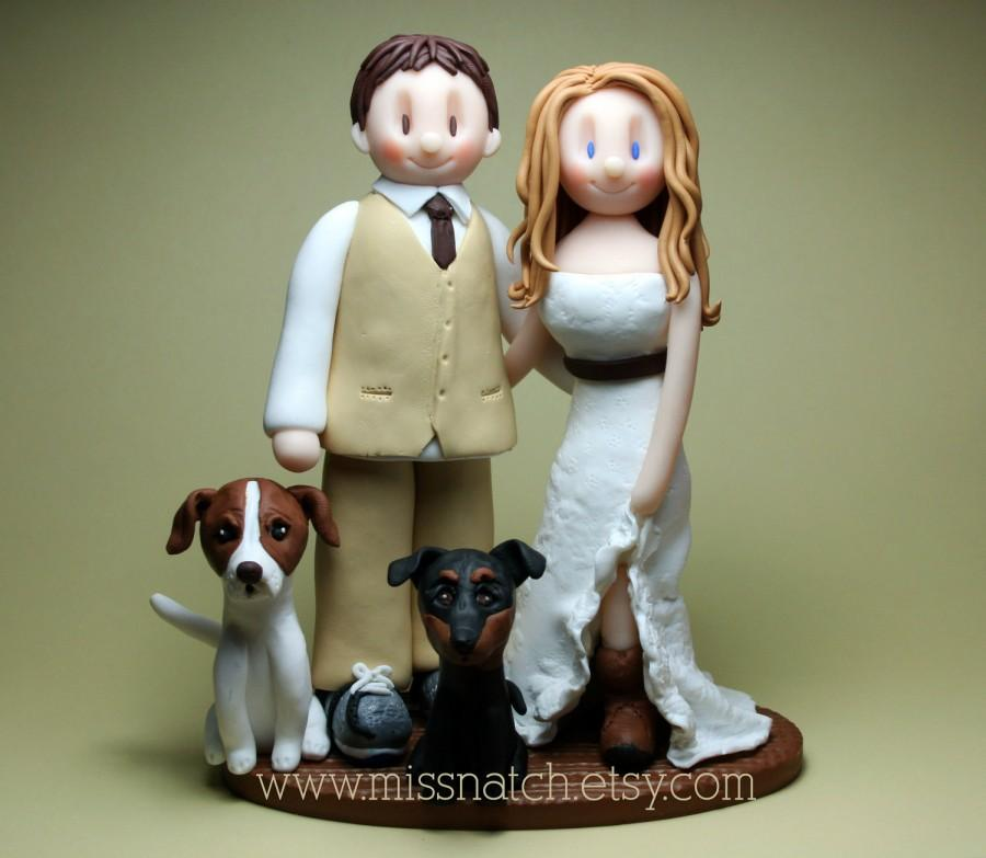 Mariage - DEPOSIT - Country Barn Outdoor Rustic Wedding Cake Topper