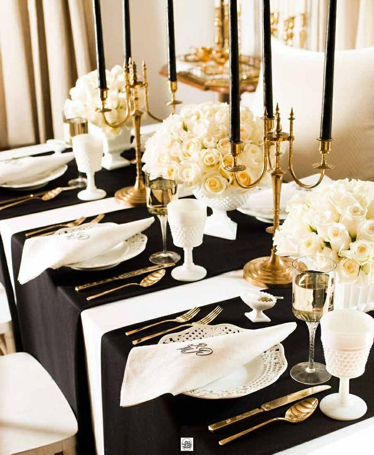 Wedding Theme - Black Tie Wedding Ideas That Dazzle #2499722 - Weddbook