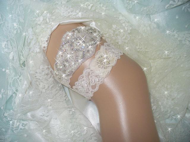 Rhinestone and Crystal Wedding Dresses