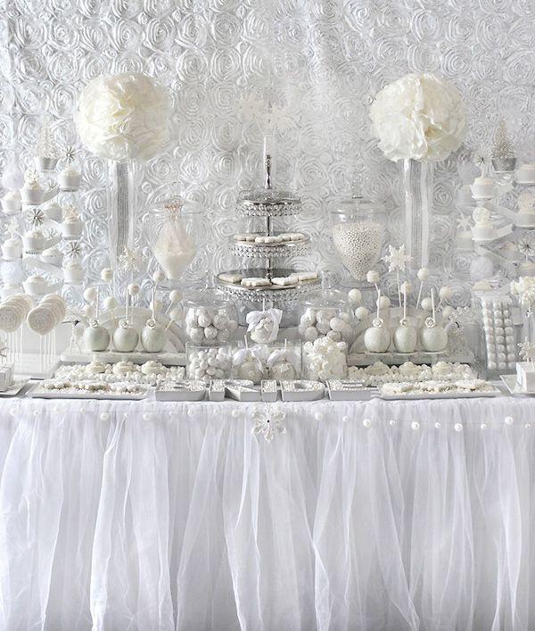 Food Favor All White Bridal Shower Ideas 2500094 Weddbook