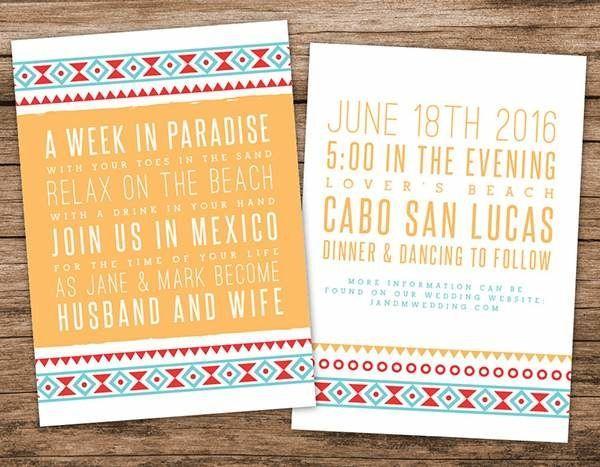 Wedding - Destination & Travel Themed Wedding Invitations