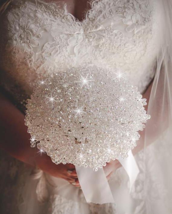 Mariage - Crystal Elegance bouquet