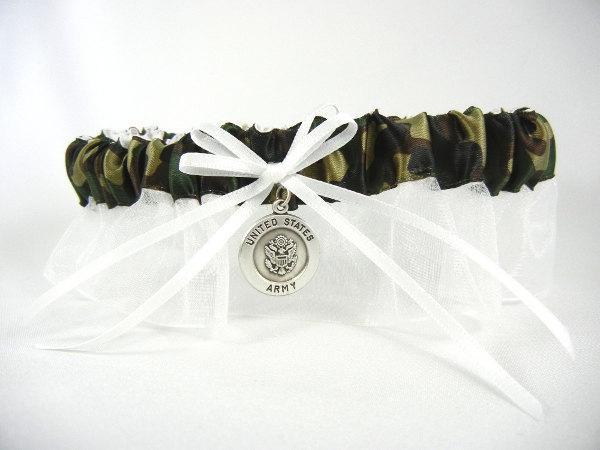 Свадьба - United States Army Bridal Garter