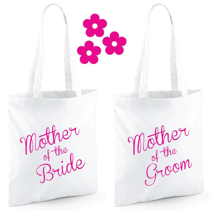 Mariage - Mother Of The Bride Gift Tote Bag. Mother Of The Groom Gift Tote Bag. Wedding Bag. Wedding Gift. Wedding Bag.