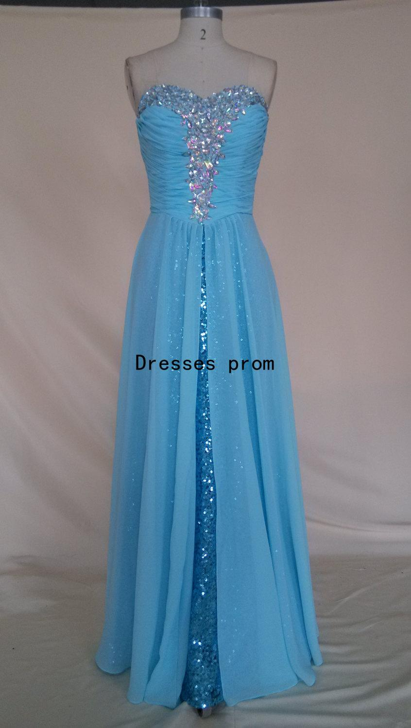 Long Prom Dresses Sweetheart