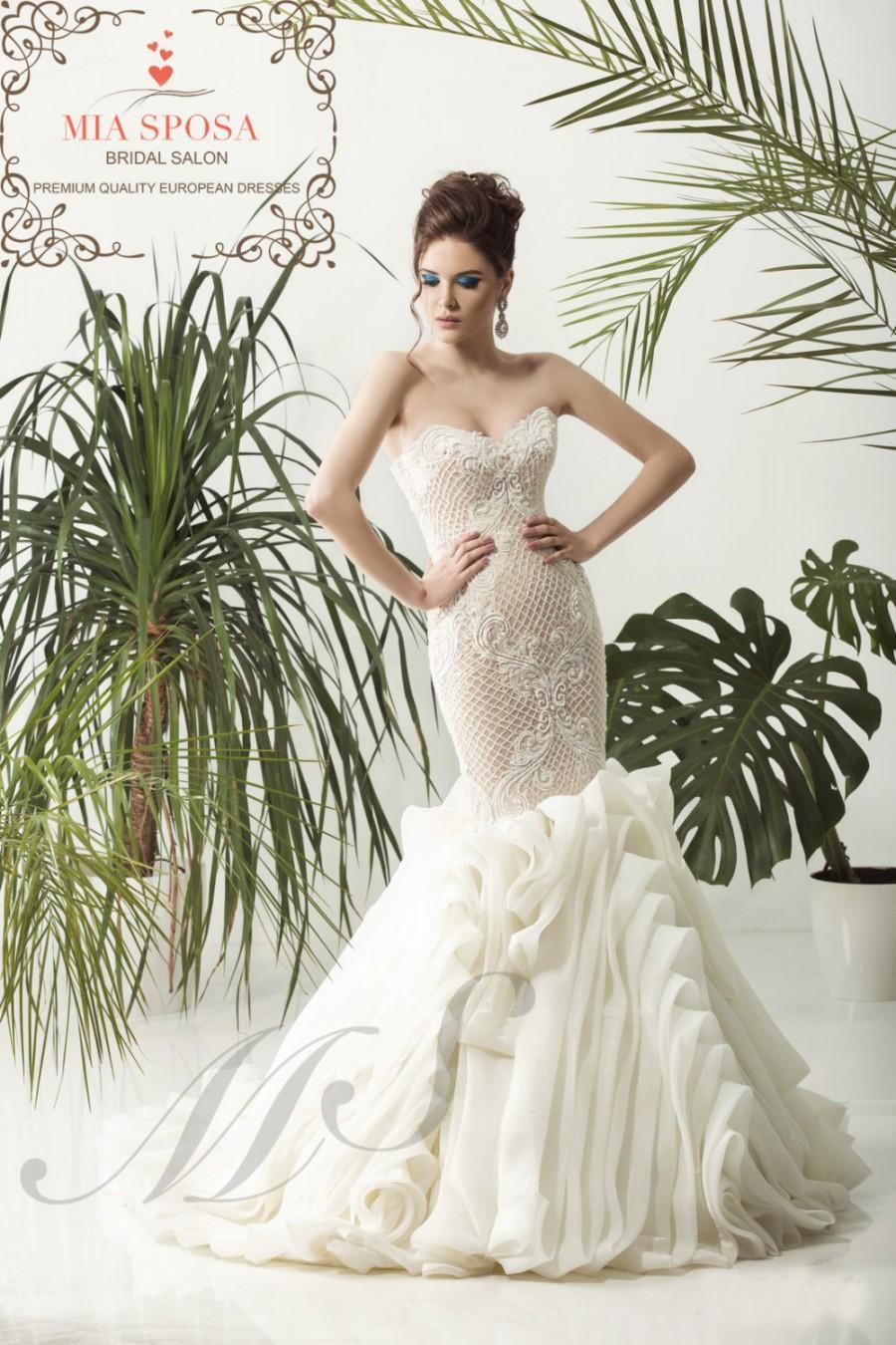 Wedding - Mermaid wedding dress, bridal dress, beach wedding dress, destination wedding dress