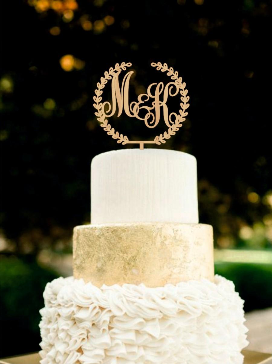 Wooden Cake Toppers Wedding Cakes