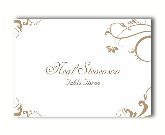 place cards wedding place card template diy editable printable place cards elegant place cards gold place card tented place card