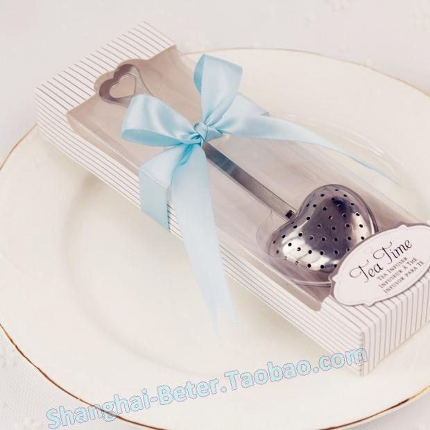 Wedding - 纯白心形茶滤勺 心形茶包WJ035/C创意家居 活动抽奖礼品 下午茶