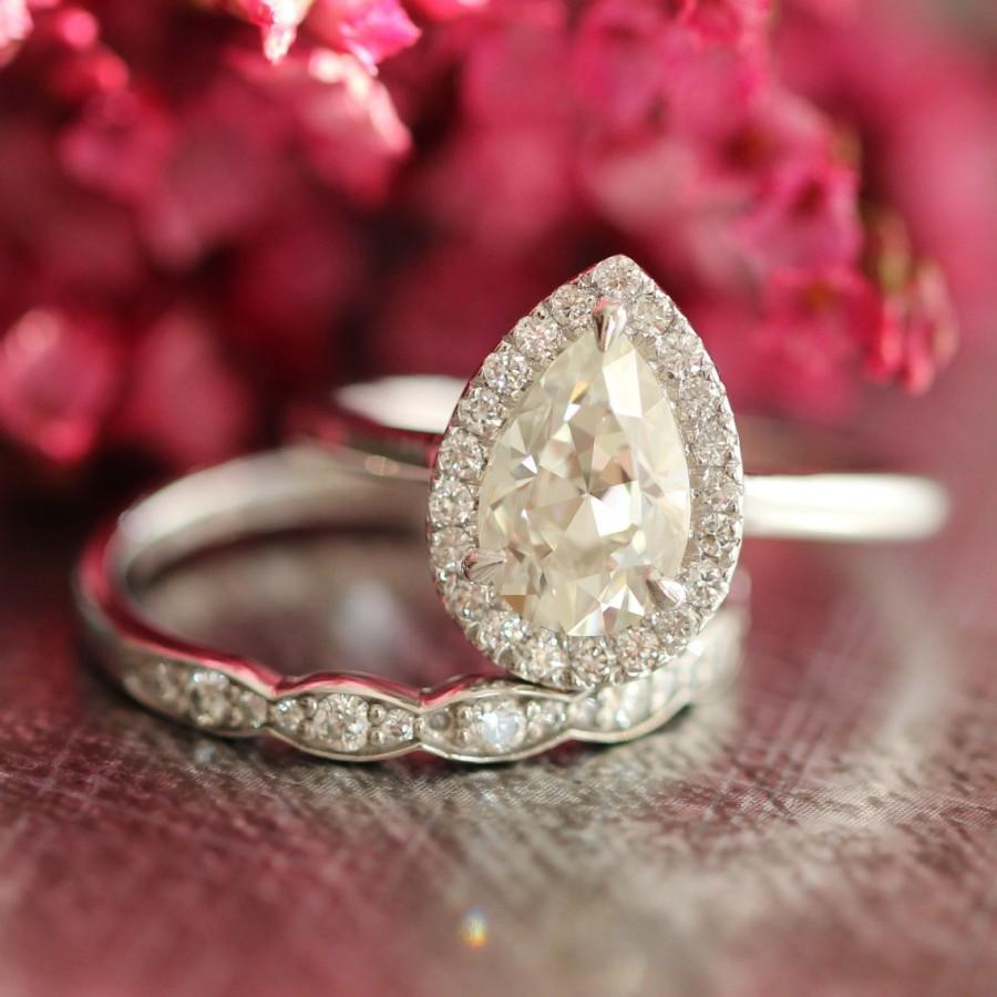 shaped adorable real decor dream diamond studio diamonds rings home for look wedding pear