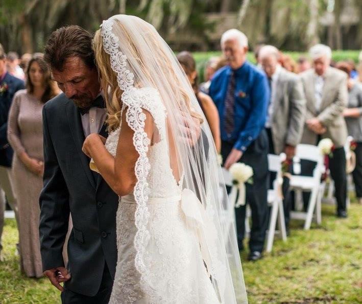 زفاف - Lace Wedding Veil