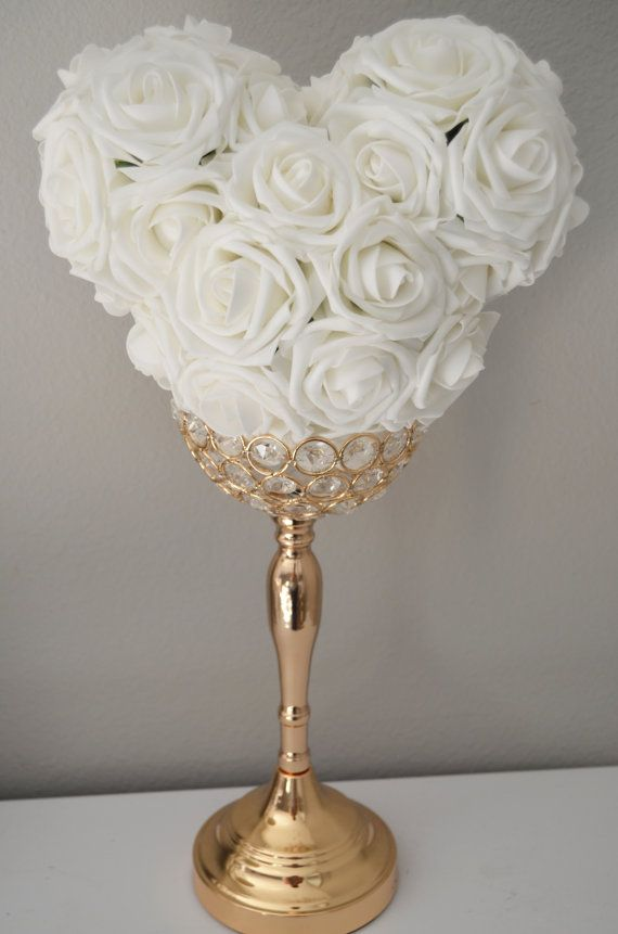 Mickey Flower Ball, Kissing Ball. Bouquet. Wedding Centerpiece ...