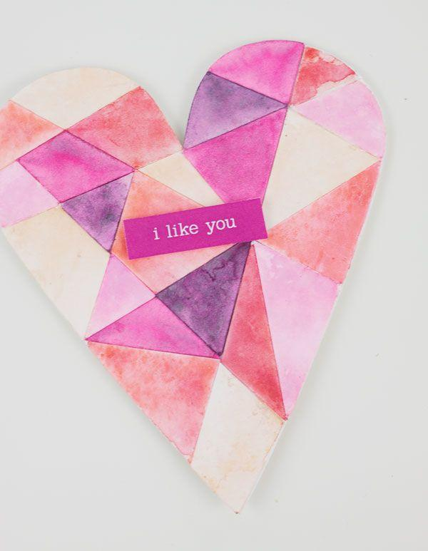 Wedding - Handmade Valentine Cards: FREE Valentine Card Template!