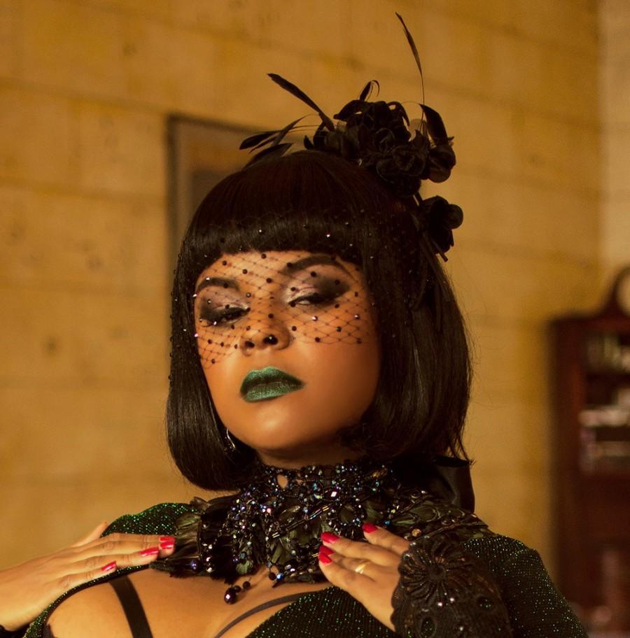 Mariage - Black Blindfold Veil, Birdcage Veil, Swarovski Crystal, Crystal Veil, Black Veil, Fetish Wear, Pin Up, Goth Wedding, Hair Accessory, Glam