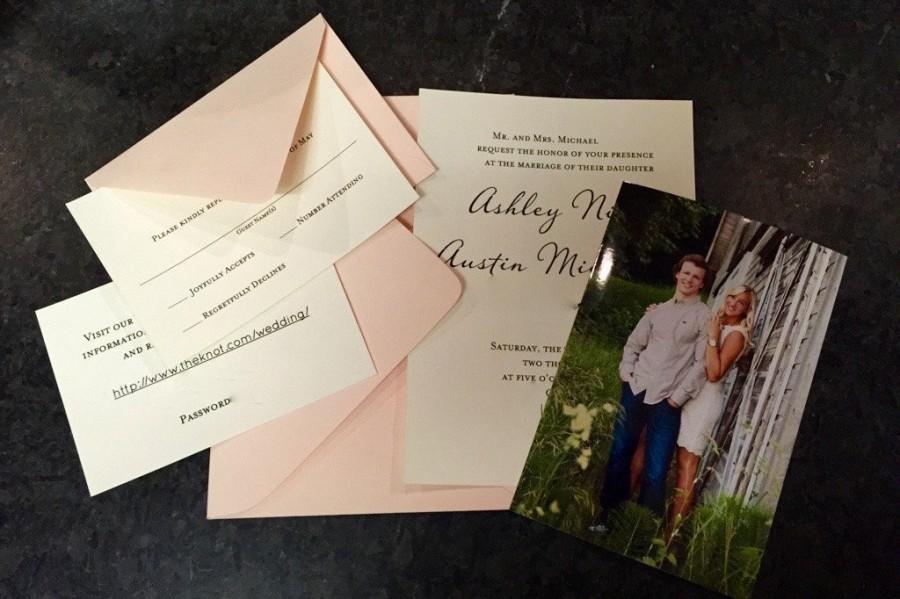 Hochzeit - Basic Wedding Invitation