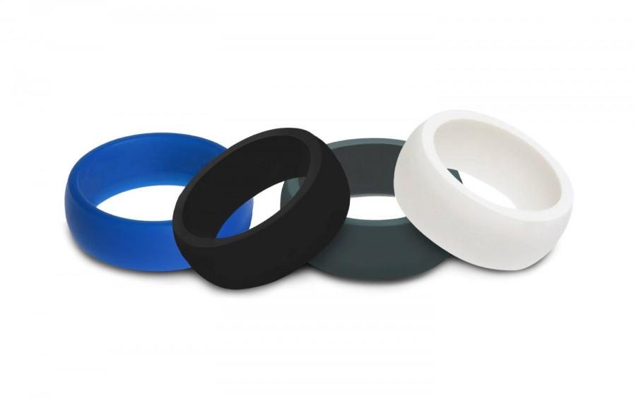 On Sale Mens Rubber Silicone Wedding Ring Band Best