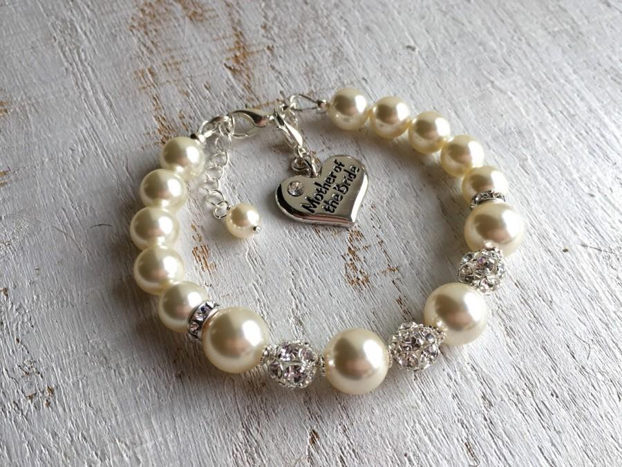 MOTHER Of The BRIDE Gift Mother Of The Bride Bracelet Mother Of The ...