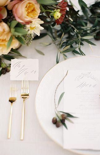 Hochzeit - Gold Ethereal Wedding Inspiration