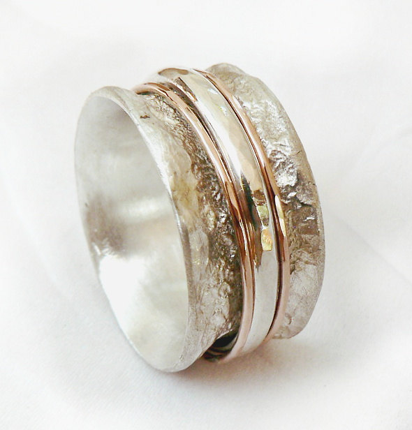 Meditation Spinner Rings